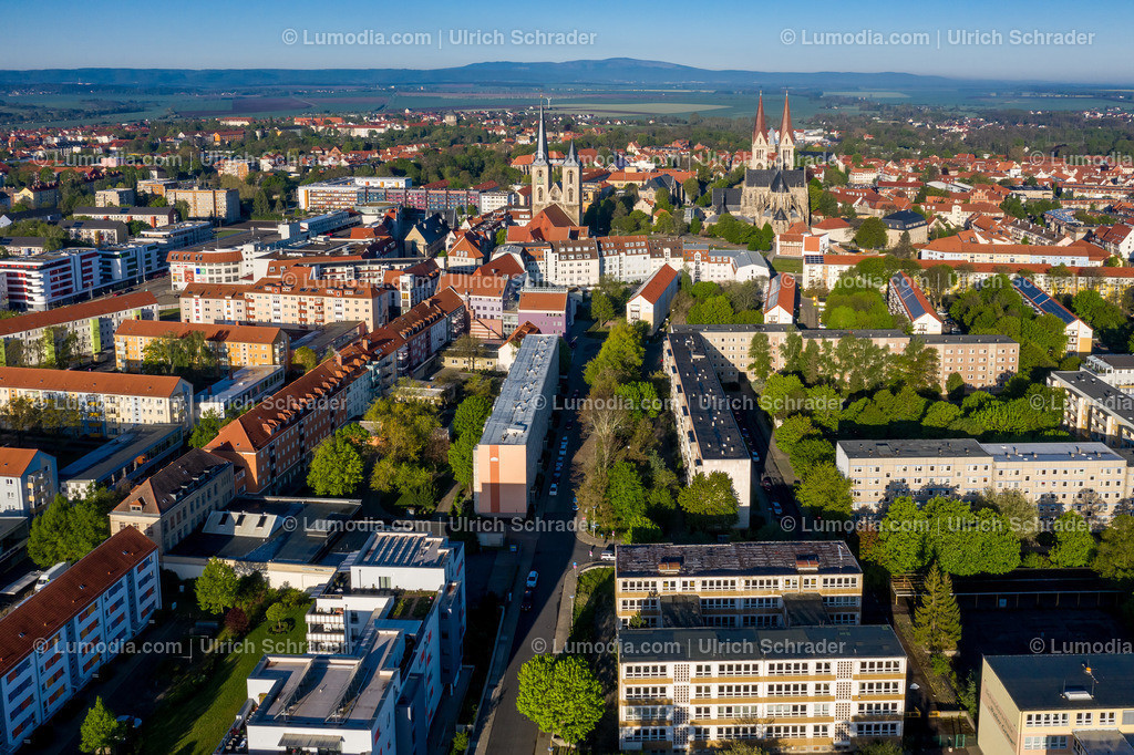 10049-50360 - Blick auf Halberstadt von Osten