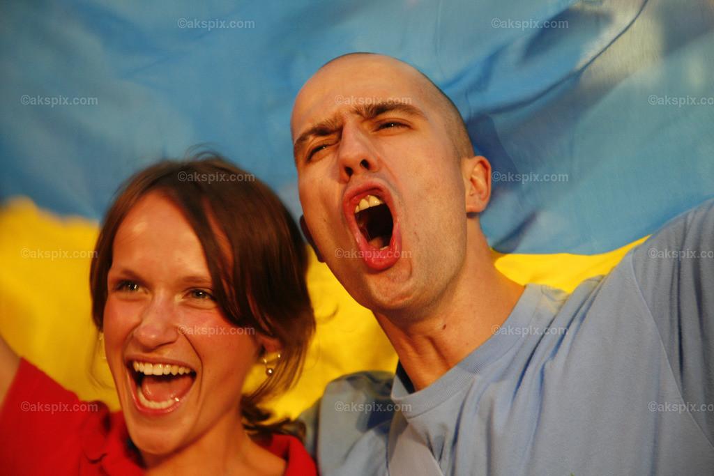 Ukraine-Fan