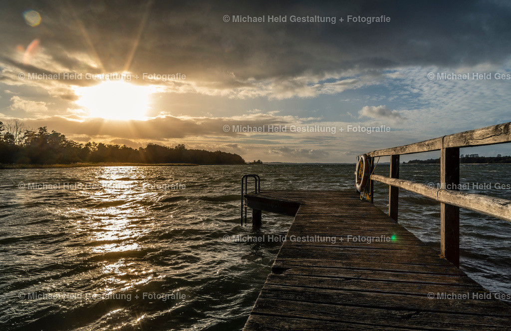 00 Titelbild | Badestelle Seekrug | Starkwind im Sommer n der Badestelle Seekrug