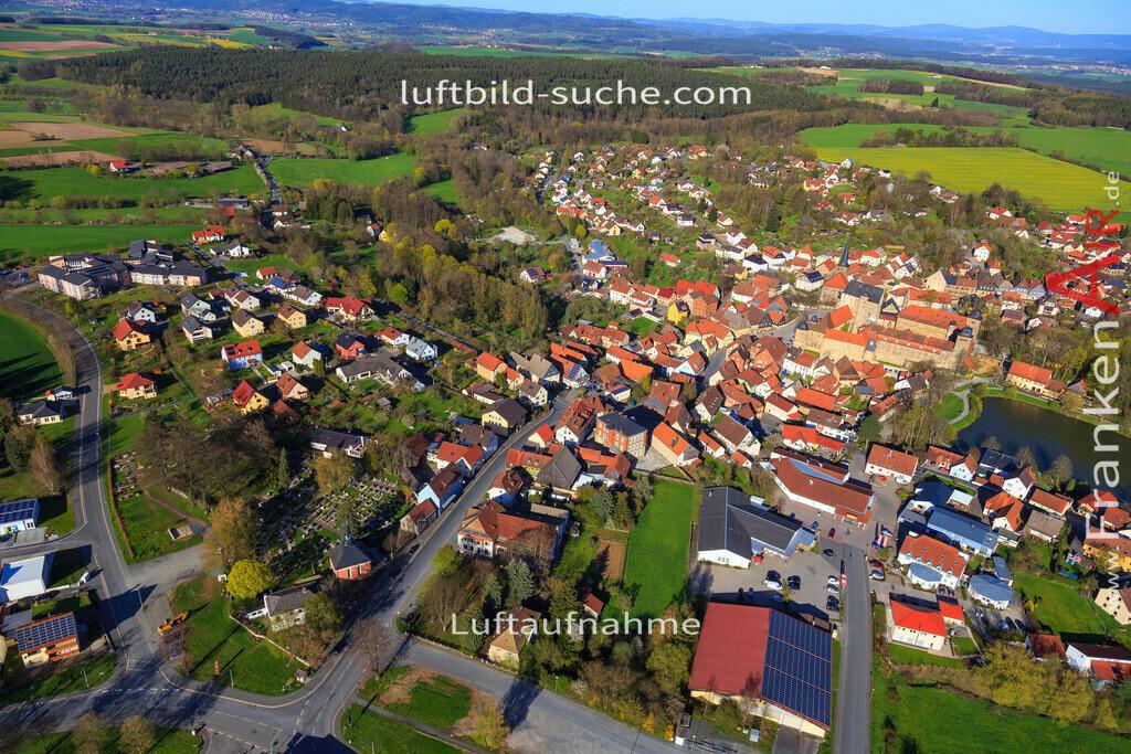thurnau-2016-3265 | Luftbild von  Thurnau - Luftaufnahme wurde 2016 von https://frankenair.de mittels Flugzeug (keine Drohne) erstellt - die Geschenkidee