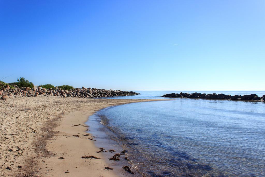Strand in Kleinwaabs   Sandstrand in Kleinwaabs