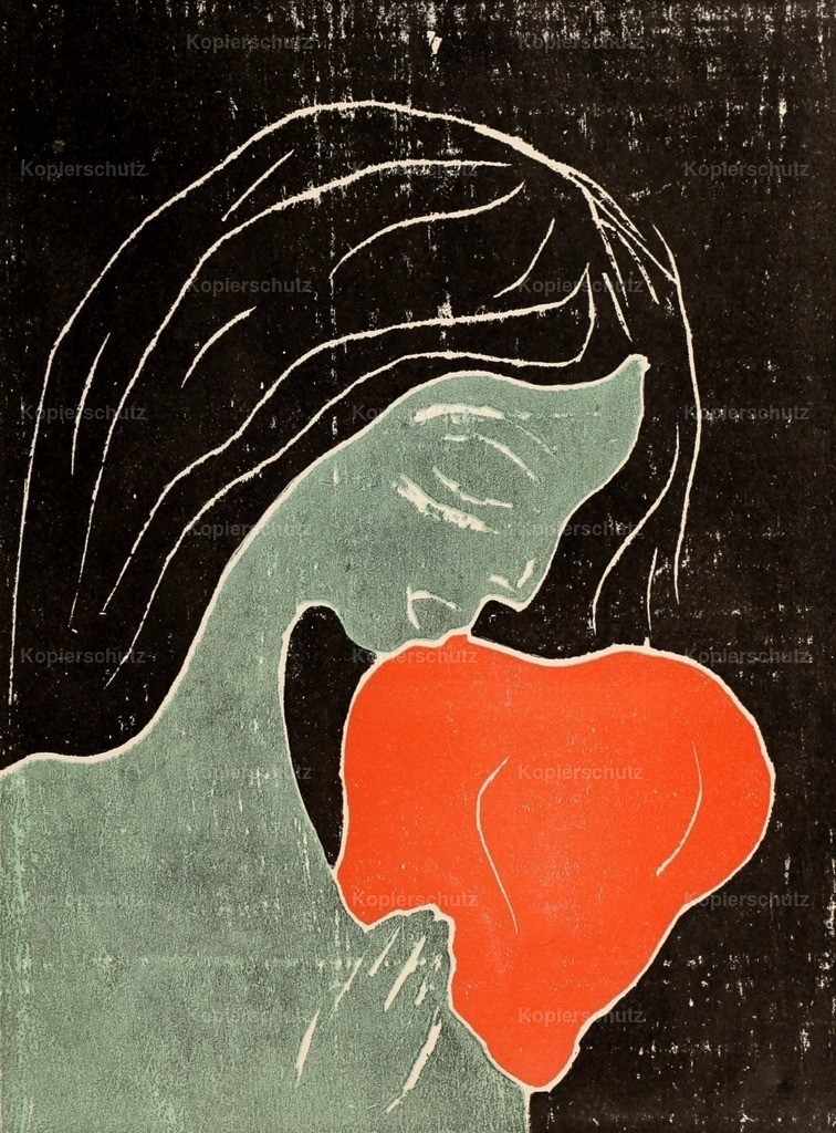 Munch_ Edvard (1863-1944) - The Girl and the Heart