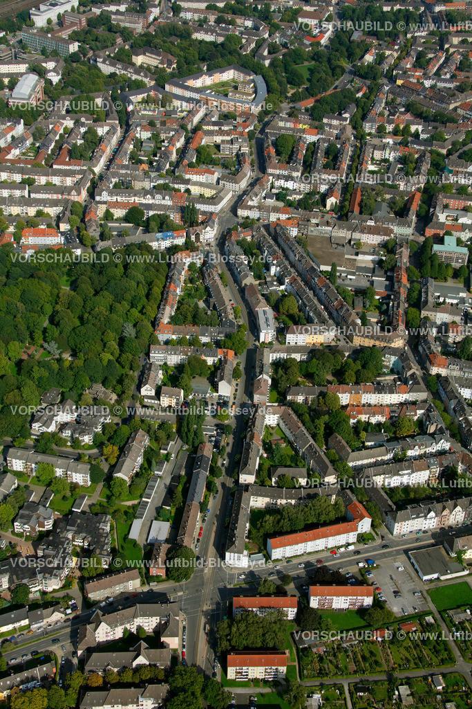 ES10094250 | Frohnhauseer Strasse, Luftbild,  , Ruhrgebiet, , , Europa, Foto: hans@blossey.eu, 05.09.2010
