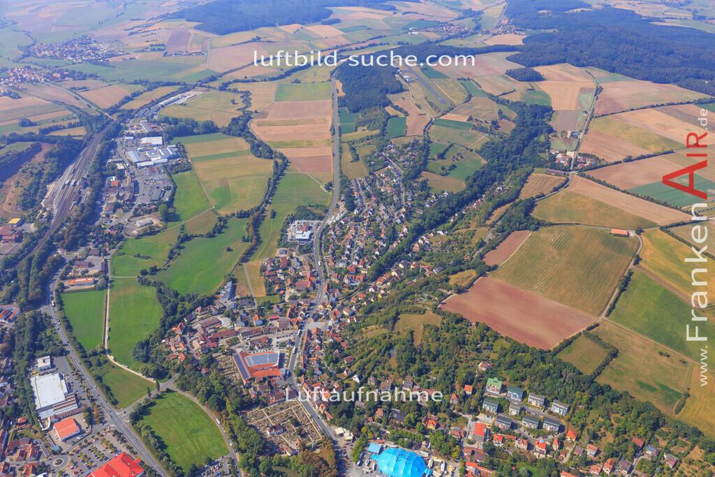 neustadt-aisch-2016-5675 | Luftbild von  Neustadt-aisch - Luftaufnahme wurde 2016 von https://frankenair.de mittels Flugzeug (keine Drohne) erstellt - die Geschenkidee