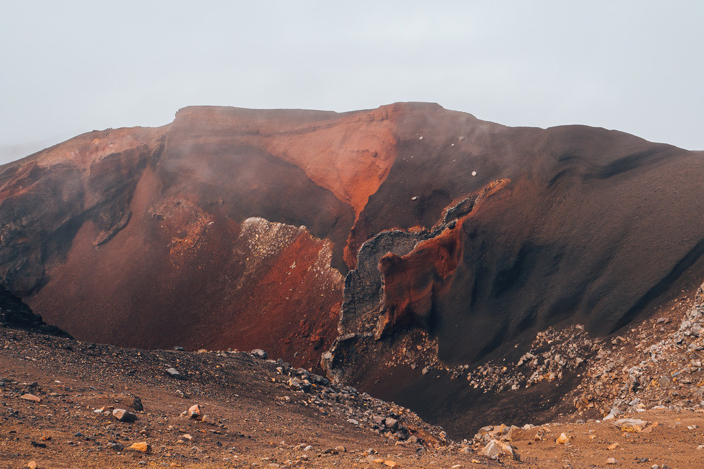 Vulkankrater am Tongariro  | Vulkankrater am Tongariro