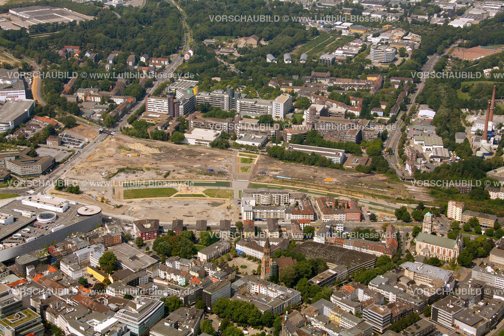 ES10080367 | Berliner Platz Limbecker Platz Karstadt, ,  Essen, Ruhrgebiet, Nordrhein-Westfalen, Germany, Europa, Foto: hans@blossey.eu, 14.08.2010