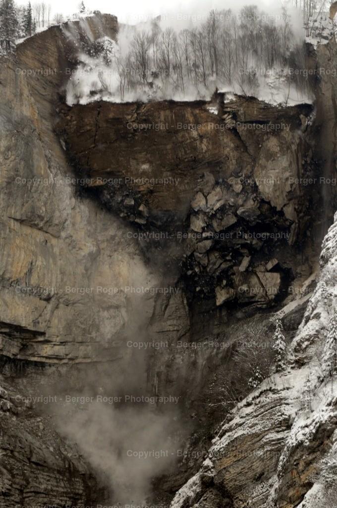 Felssturz Muotathal 1 | 2010 ereignete sich ein grosser Felssturz im Muotathal