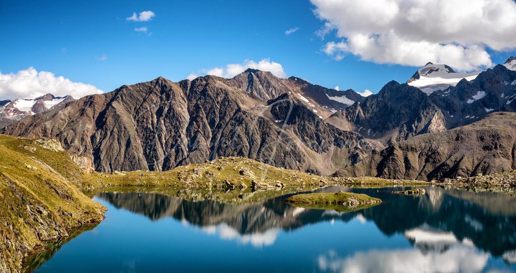 Mutterbergersee | Der Mutterbergersee am Stubaier Gletscher
