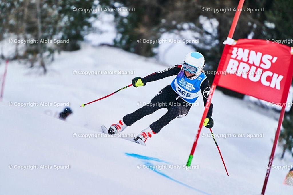 ALS5484_WWMG_GS-II_C | (C) FotoLois.com, Alois Spandl, WinterWorldMastersGames 2020 Innsbruck, Giant Slalom-II Gruppe C Damen, Patscherkofel Olympiaabfahrt, Mi 15. Jänner 2020.