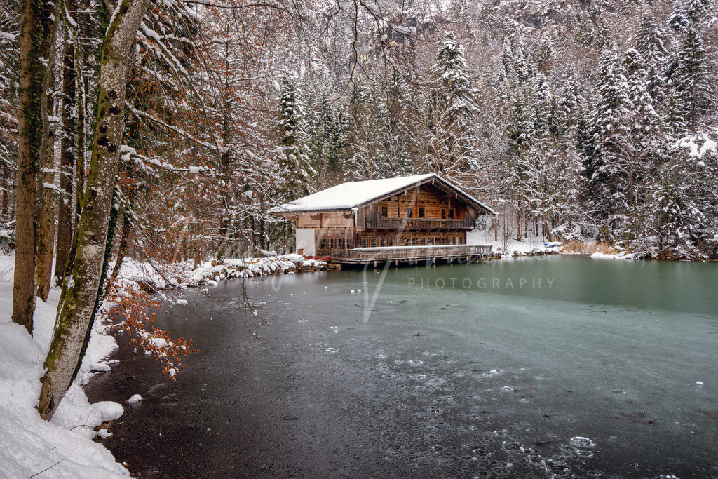 Berglsteinersee   Winter am Berglsteinersee