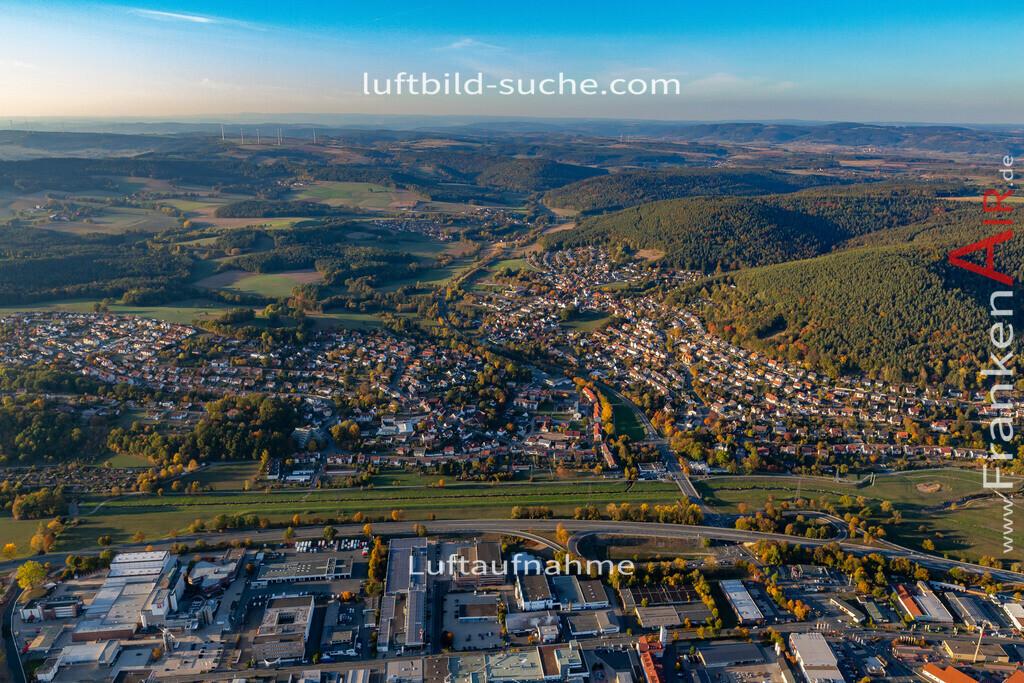 ziegelhuetten-kulmbach-18-393   aktuelles Luftbild von Ziegelhuetten Kulmbach - Luftaufnahme wurde 2018 von https://frankenair.de mittels Flugzeug (keine Drohne) erstellt.
