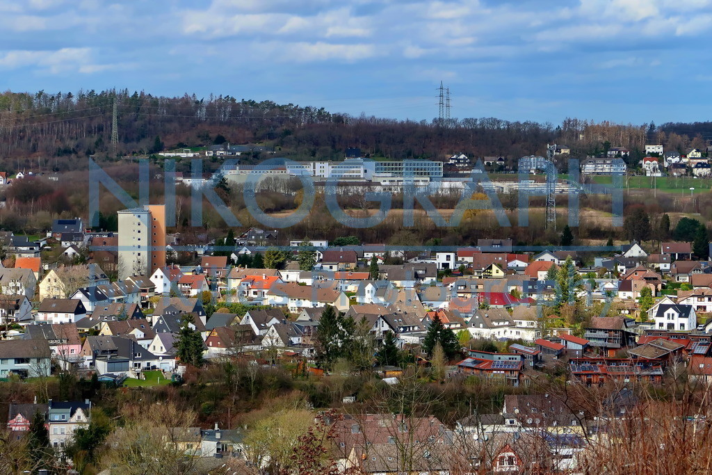 Dröschederfeld Iserlohn   Panoramaaufnahme vom Iserlohner Stadteil Dröschederfeld.