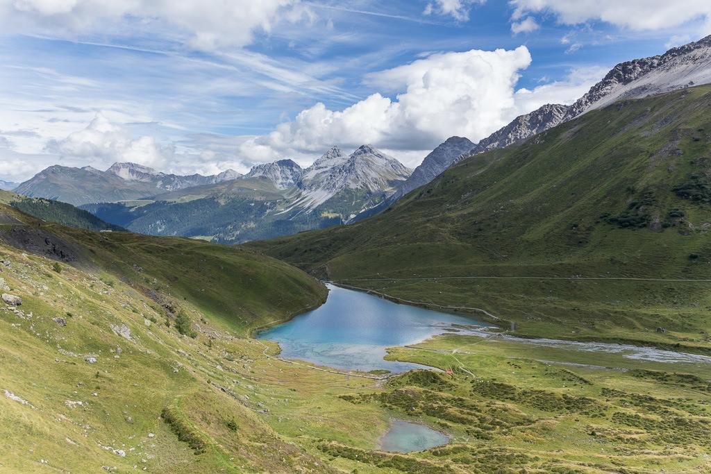 See in den Schweizer Alpen