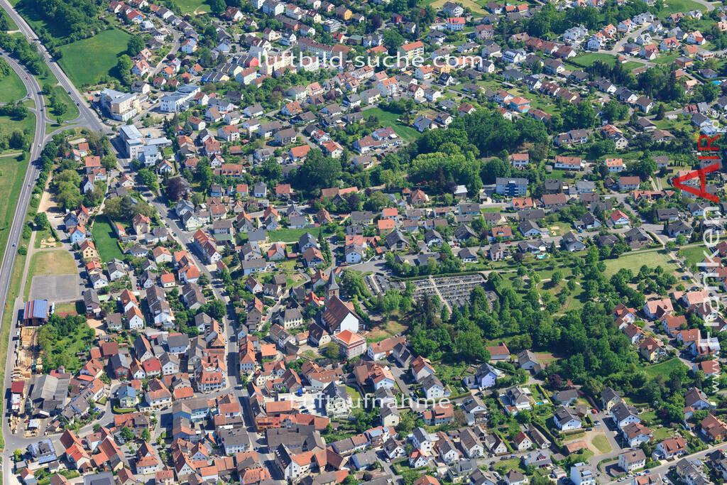 bischberg-18-336 | aktuelles Luftbild von  Bischberg - Luftaufnahme wurde 2018 von https://frankenair.de mittels Flugzeug (keine Drohne) erstellt.