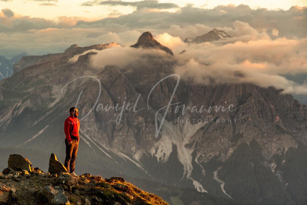 Serlesblick | Den Sonnenuntergang vor der majestätischen Serles genießen