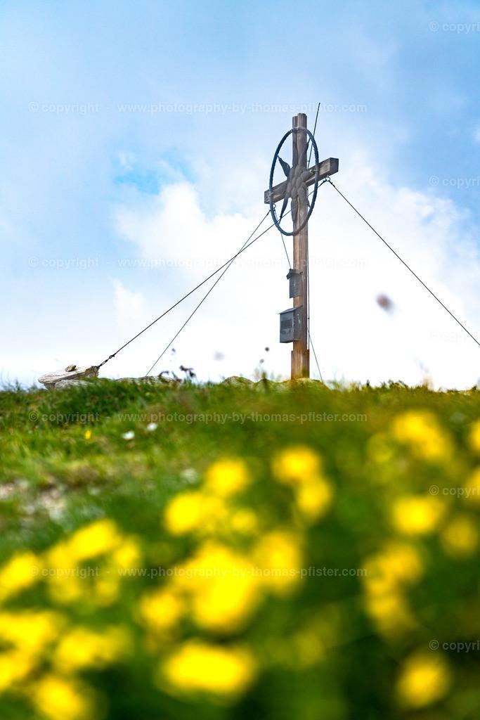 Grüblspitze im Frühjahr