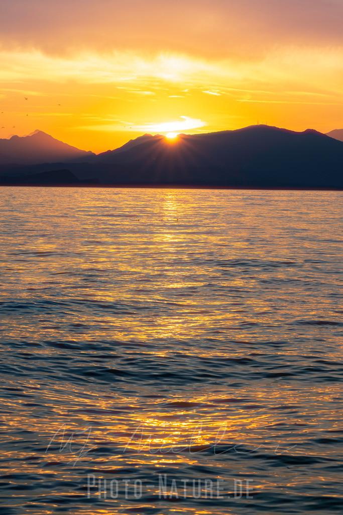 Wie ein Gemälde | Sonnenuntergang am Lago di Garda