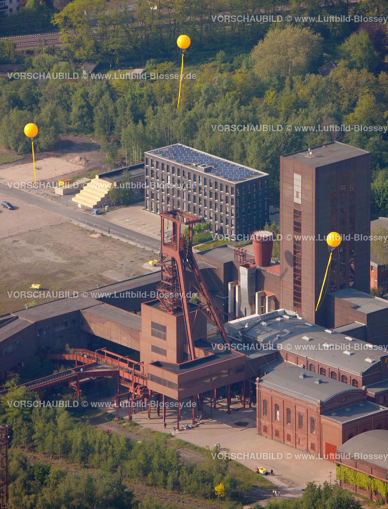 ES10056365 | Zollverein 12/6/8 Weltkulturerbe, Zollverein 3/7/10, Schachtzeichen ruhr2010,  Essen, Ruhrgebiet, Nordrhein-Westfalen, Deutschland, Europa, Foto: hans@blossey.eu, 22.05.2010