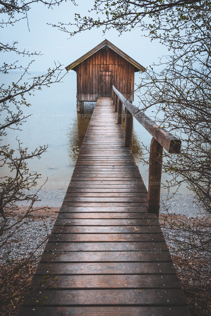 Ammersee in Bayern