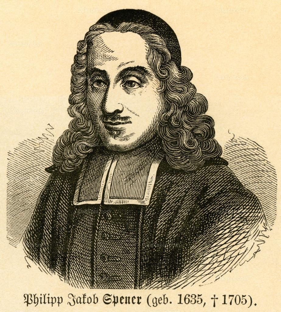Philipp Jakob Spener / Philipp Jakob Spener   Europa, Frankreich, Elsaß, Rappoltsweiler, Philipp Jakob Spener, Lutherischer Theologe, Motiv aus :