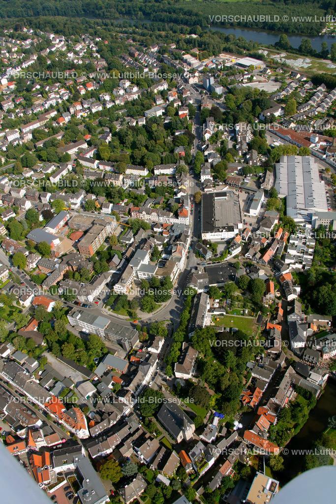 KT10094278 | Steinweg, Kettwig, Ruhr, Luftbild,  Essen, Ruhrgebiet, Nordrhein-Westfalen, Germany, Europa, Foto: hans@blossey.eu, 05.09.2010