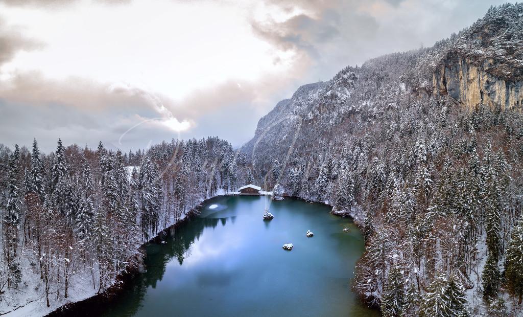 Berglsteinersee | Winter am Berglsteinersee