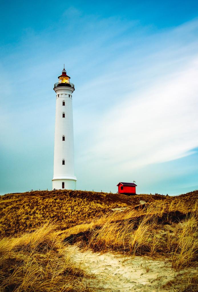 Lyngvig Fyr III   Der Leuchtturm in Nørre Lyngvig
