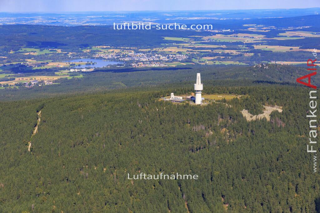 schneeberg-17-5392   Luftbild von Schneeberg  - Luftaufnahme wurde 2017 von https://frankenair.de mittels Flugzeug (keine Drohne) erstellt - die Geschenkidee
