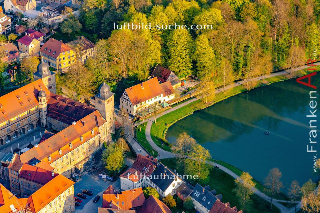 schloss-thurnau-18-216 | aktuelles Luftbild von Schloss Thurnau - Luftaufnahme wurde 2018 von https://frankenair.de mittels Flugzeug (keine Drohne) erstellt.