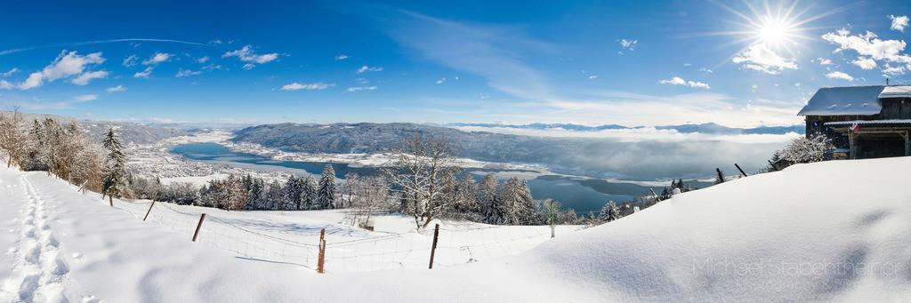 Ossiacher See in Kärnten | Aufnahme vom Ossiacher See