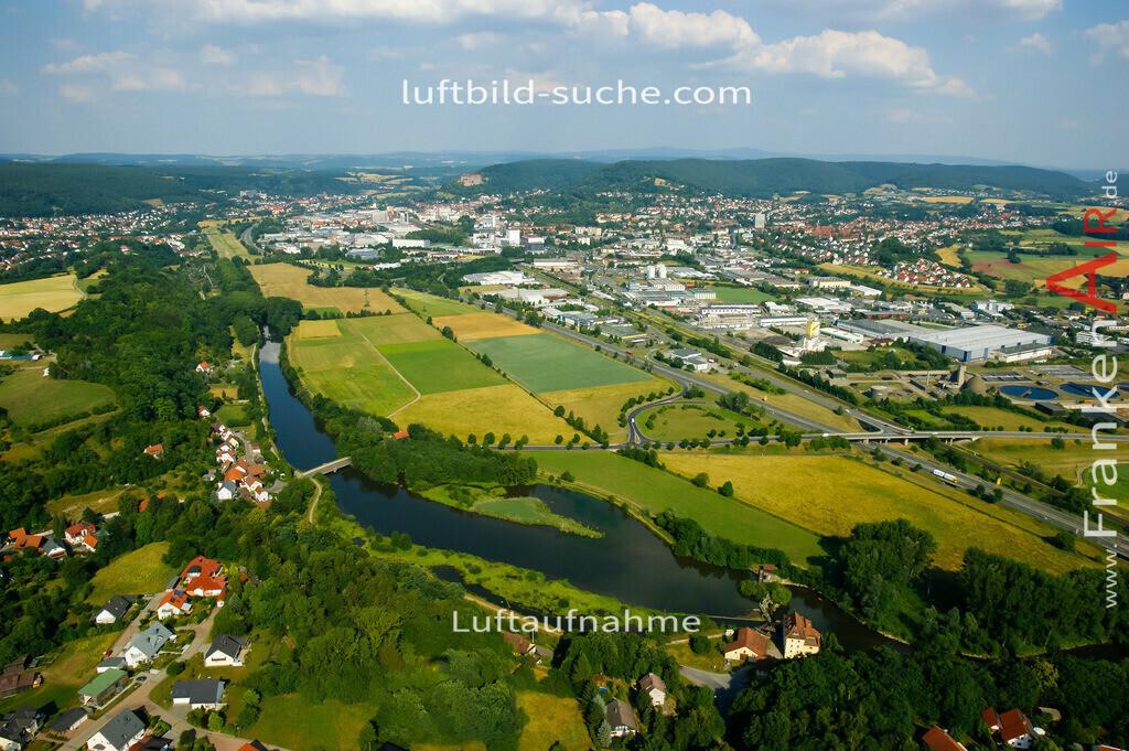 burghaig-kulmbach-2008-104 | Luftbild von Burghaig Kulmbach - Luftaufnahme wurde 2008 von https://frankenair.de mittels Flugzeug (keine Drohne) erstellt - die Geschenkidee
