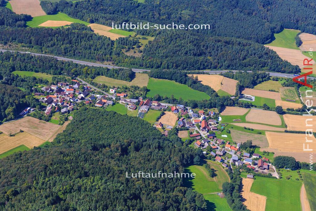 menchau-thurnau-2016-8384 | Luftbild von Menchau Thurnau - Luftaufnahme wurde 2016 von https://frankenair.de mittels Flugzeug (keine Drohne) erstellt - die Geschenkidee