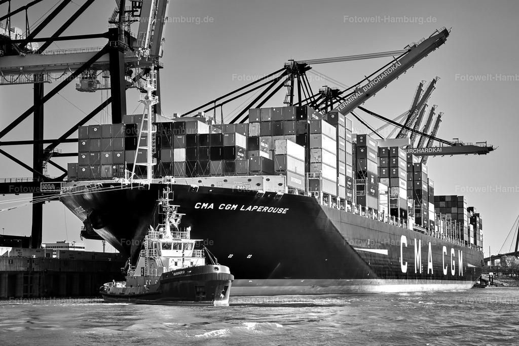 10200119 - Schlepper und Containerschiff