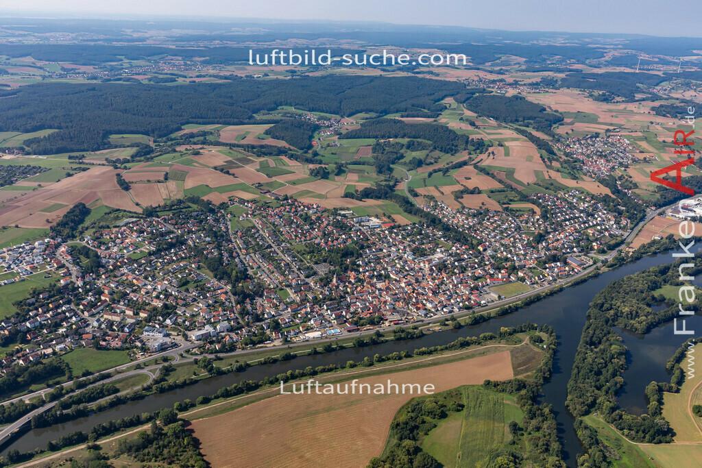bischberg-19-296 | aktuelles Luftbild von  Bischberg - Luftaufnahme wurde 2019 von https://frankenair.de mittels Flugzeug (keine Drohne) erstellt.