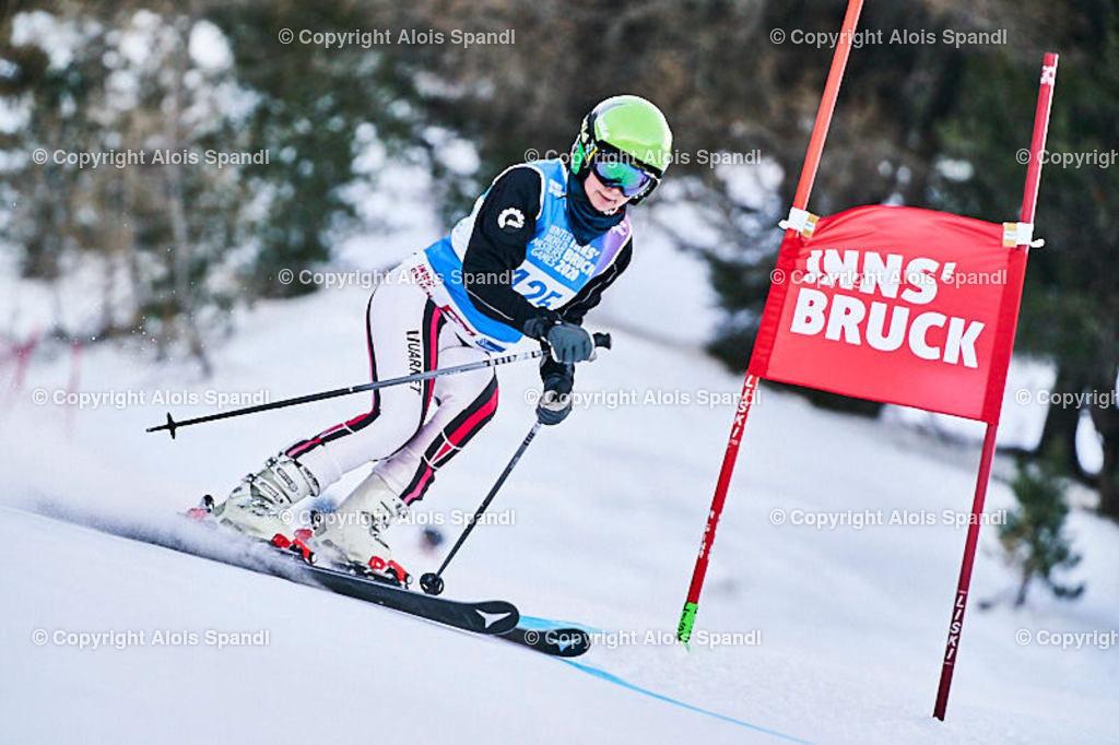 ALS5810_WWMG_GS-II_C | (C) FotoLois.com, Alois Spandl, WinterWorldMastersGames 2020 Innsbruck, Giant Slalom-II Gruppe C Damen, Patscherkofel Olympiaabfahrt, Mi 15. Jänner 2020.