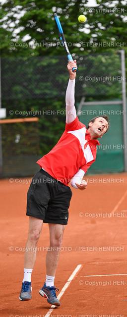 Tennis Hessische Meisterschaften Senioren SGA Darmstadt copyright by HEN-FOTO   Tennis Hessische Meisterschaften Senioren SGA Darmstadt 06.06.2021 Finale Ludek Vildman TK Langen copyright by HEN-FOTO Peter Henrich