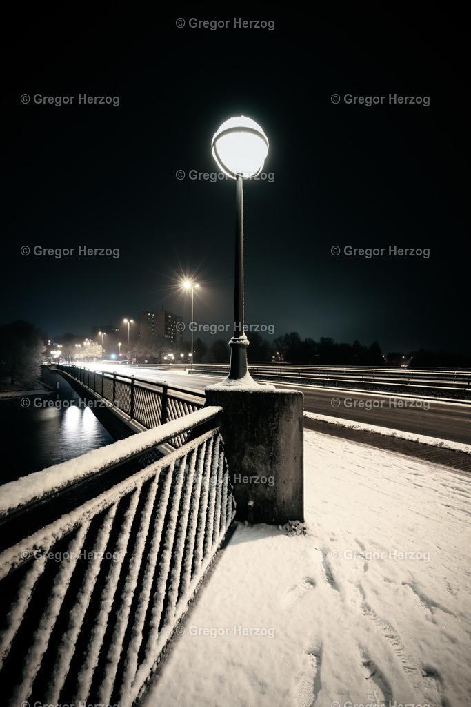 Torminbrücke im Winter  | Romatik pur auf der Torminbrücke im Winter 2018