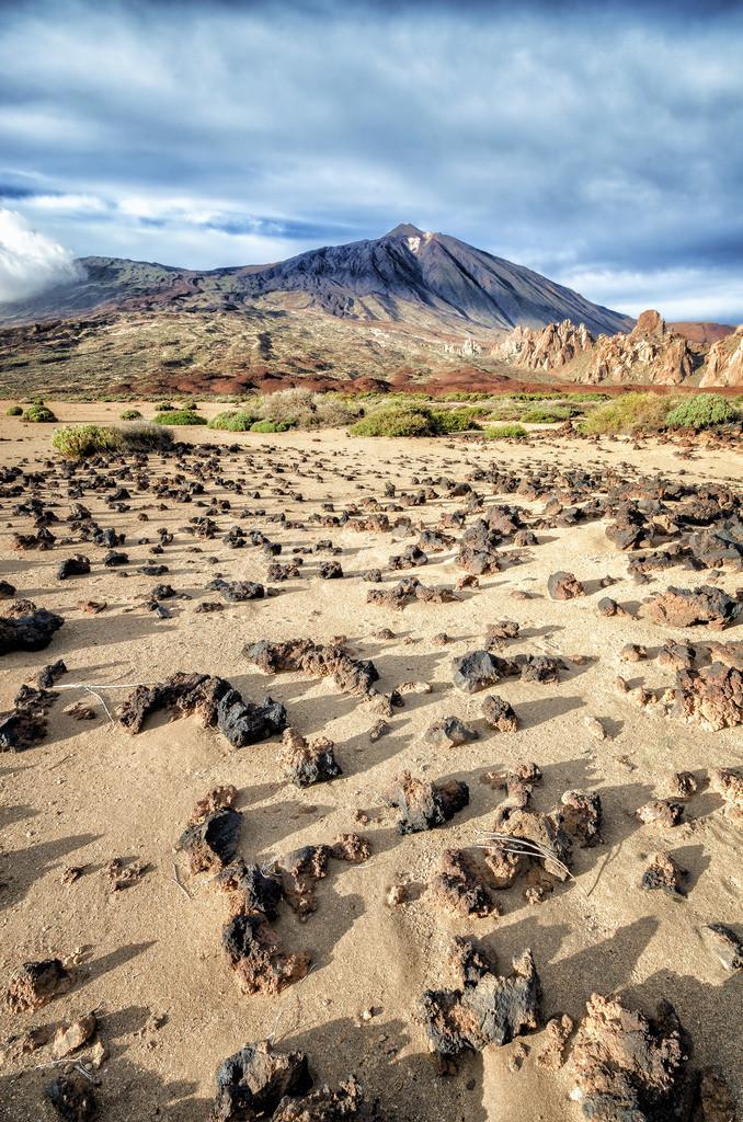 Aussicht zum Pico del Teide