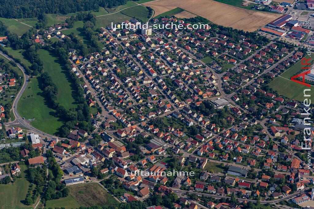 uffenheim-19-751 | aktuelles Luftbild von  Uffenheim - Luftaufnahme wurde 2019 von https://frankenair.de mittels Flugzeug (keine Drohne) erstellt.