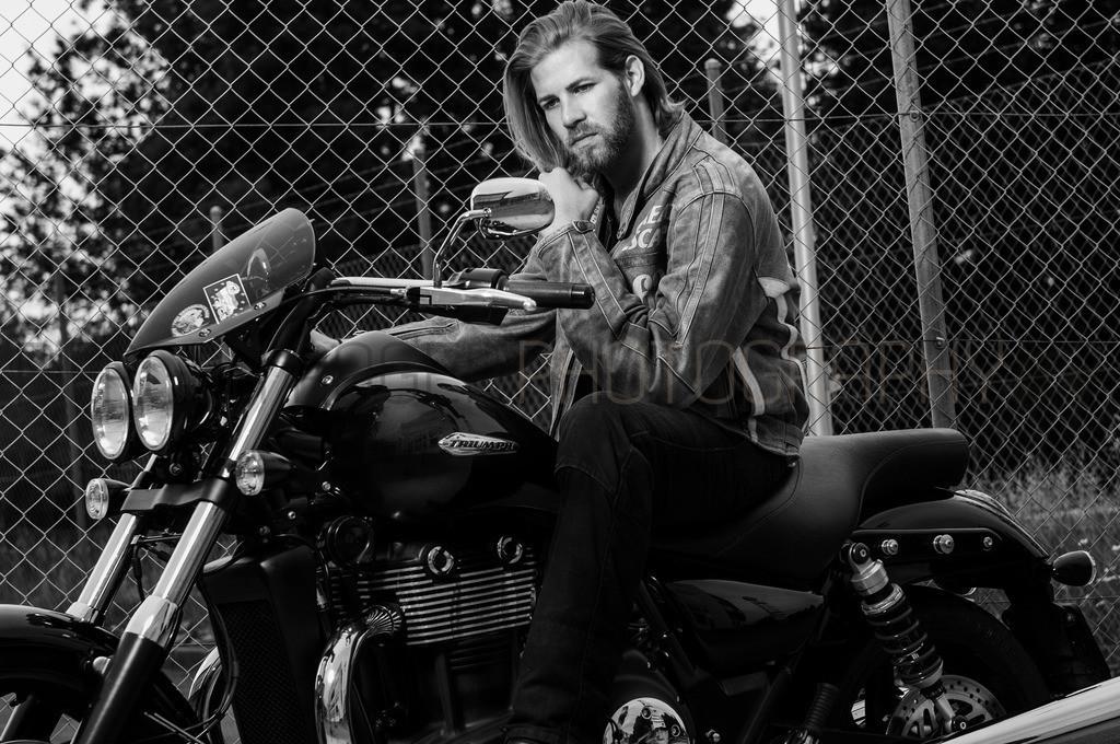 Rider 2 | Motorrad Fotoshooting mit Model Dani