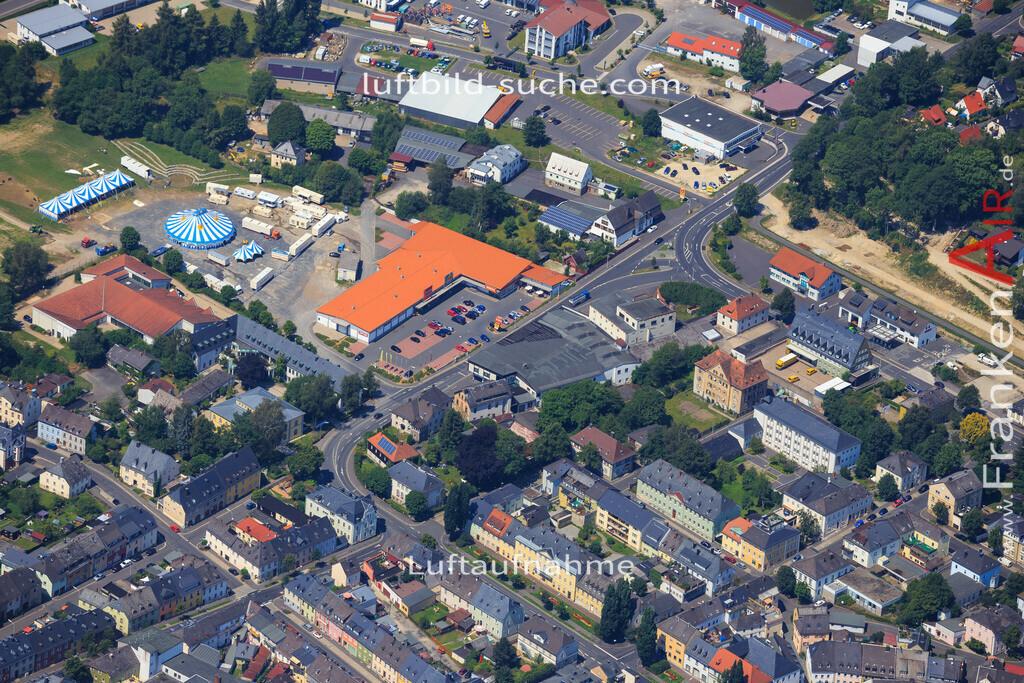 wunsiedel-2014-103 | Luftbild von  Wunsiedel - Luftaufnahme wurde 2014 von https://frankenair.de mittels Flugzeug (keine Drohne) erstellt - die Geschenkidee
