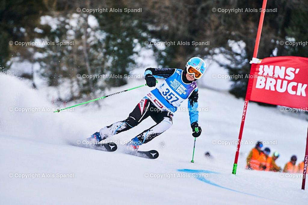 ALS5440_WWMG_GS-II_C | (C) FotoLois.com, Alois Spandl, WinterWorldMastersGames 2020 Innsbruck, Giant Slalom-II Gruppe C Damen, Patscherkofel Olympiaabfahrt, Mi 15. Jänner 2020.
