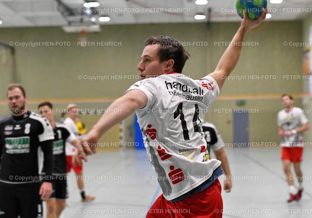 20191201 Handball Männer Oberliga SG RW Babenhausen - Tuspo Obernburg copyright by HEN-FOTO   20191201 Handball Männer Oberliga SG RW Babenhausen - Tuspo Obernburg (30:26) 8 Tore Mi 14 Martin Habenicht (B) copyright by HEN-FOTO Foto: Peter Henrich