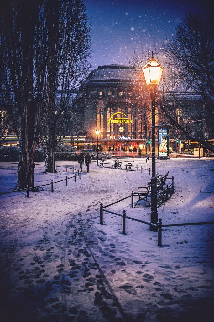 Hauptbahnhof Leipzig Winter Weihnachten (1)