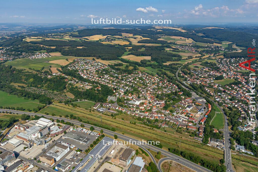 petzmannsberg-kulmbach-19-698 | aktuelles Luftbild von Petzmannsberg  Kulmbach - Luftaufnahme wurde 2019 von https://frankenair.de mittels Flugzeug (keine Drohne) erstellt.