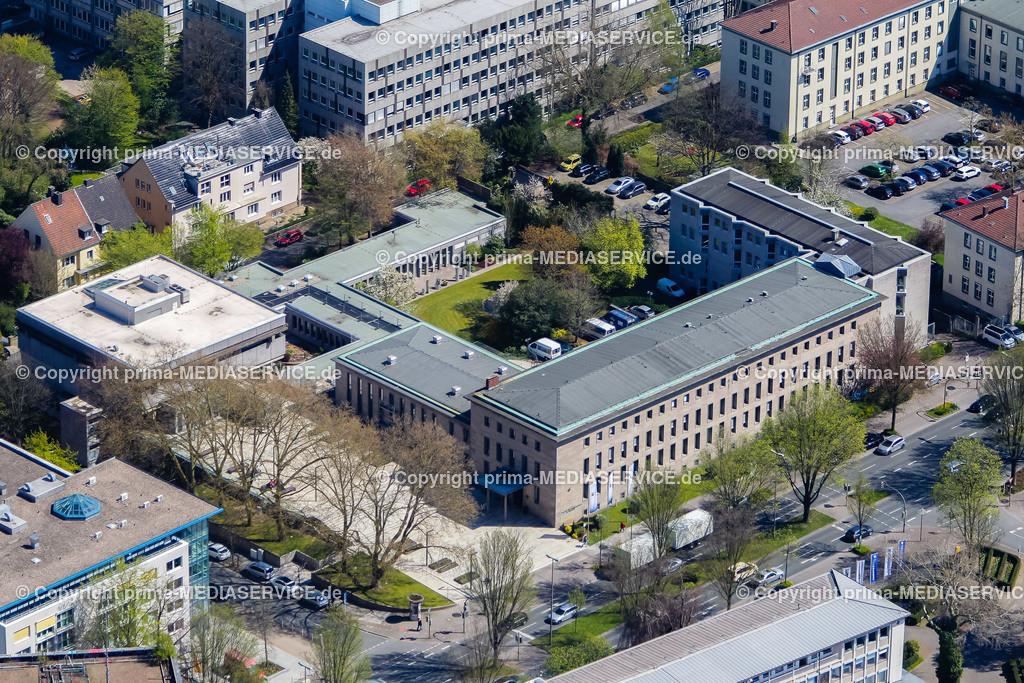 IMGL1155 | Luftbild Industrie- und Handelskammer zu Dortmund (IHK) 21.04.2015 in Dortmund (Nordrhein-Westfalen, Deutschland).  Foto: Michael Printz / PHOTOZEPPELIN.COM