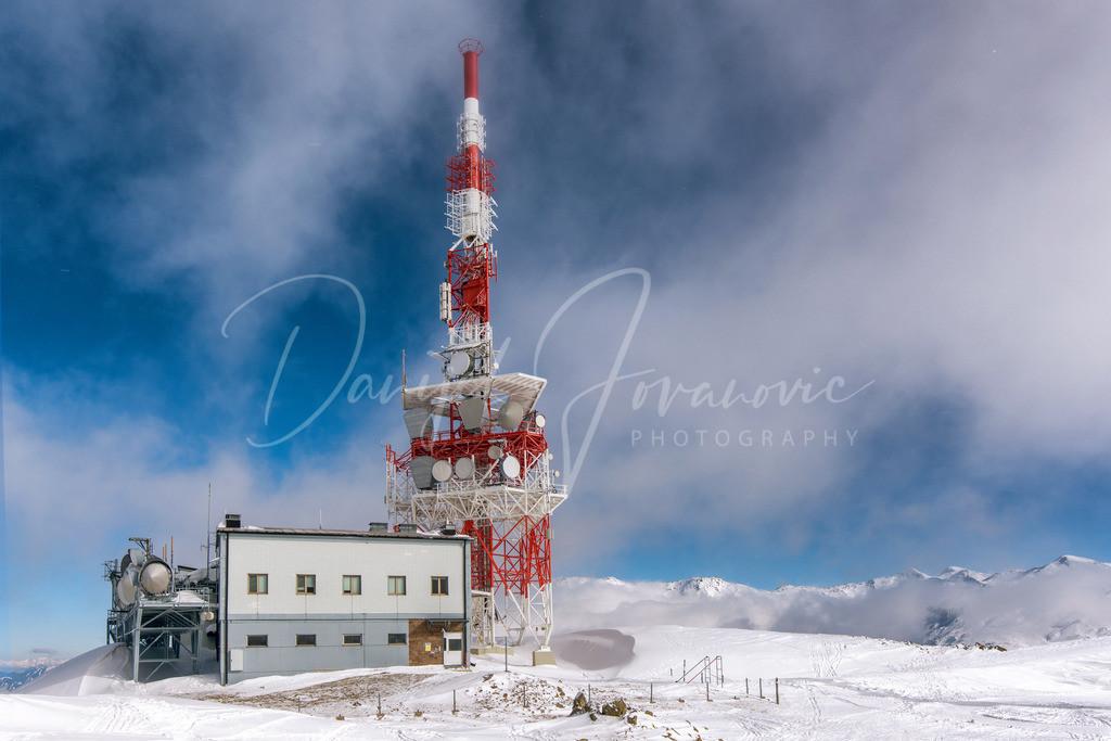 Patscherkofel | Der Sender am Patscherkofel im Winter