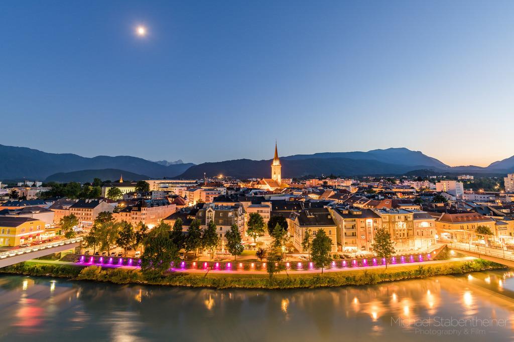 Villach | Aufnahme von Villach in Kärnten / Österreich