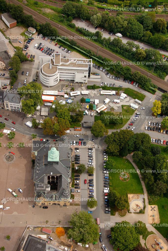 RE11070426 | Wochenmarkt am Samstag, Dr.-Helene-Kuhlmann-Parks in Recklinghausen, zwischen Augenklinik und Rathaus,  Recklinghausen, Ruhrgebiet, Nordrhein-Westfalen, Germany, Europa