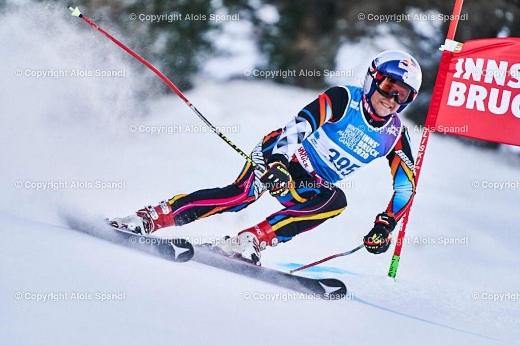 ALS5656_WWMG_GS-II_C | (C) FotoLois.com, Alois Spandl, WinterWorldMastersGames 2020 Innsbruck, Giant Slalom-II Gruppe C Damen, Patscherkofel Olympiaabfahrt, Mi 15. Jänner 2020.